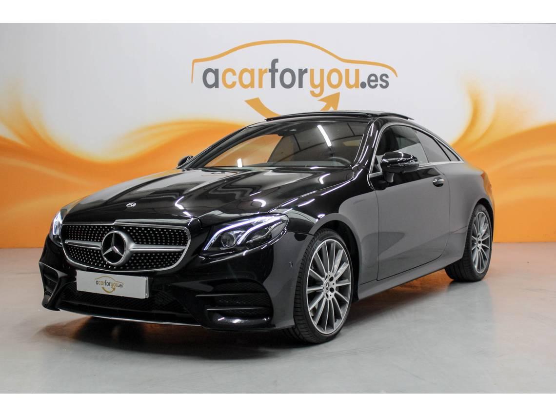 Mercedes Benz Clase E ocasión segunda mano 2017 Gasolina por 48.900€ en Madrid