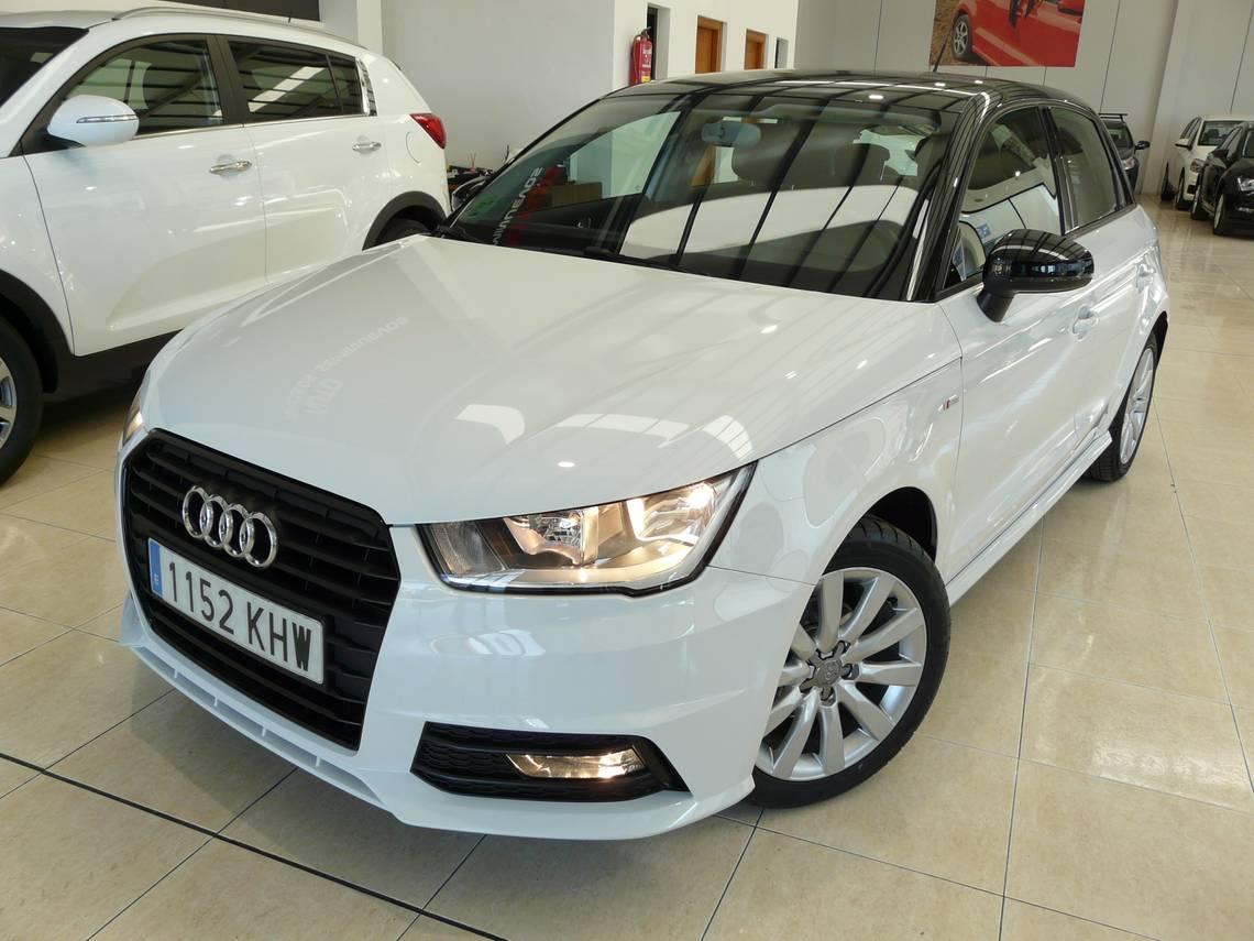 Audi A1 ocasión segunda mano 2018 Gasolina por 17.899€ en Málaga